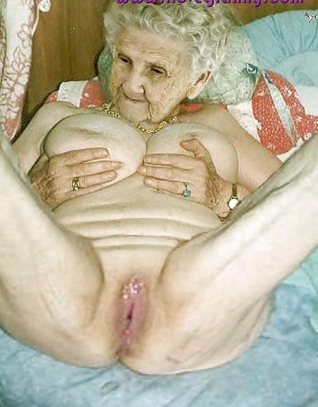 Very old grandma fuck